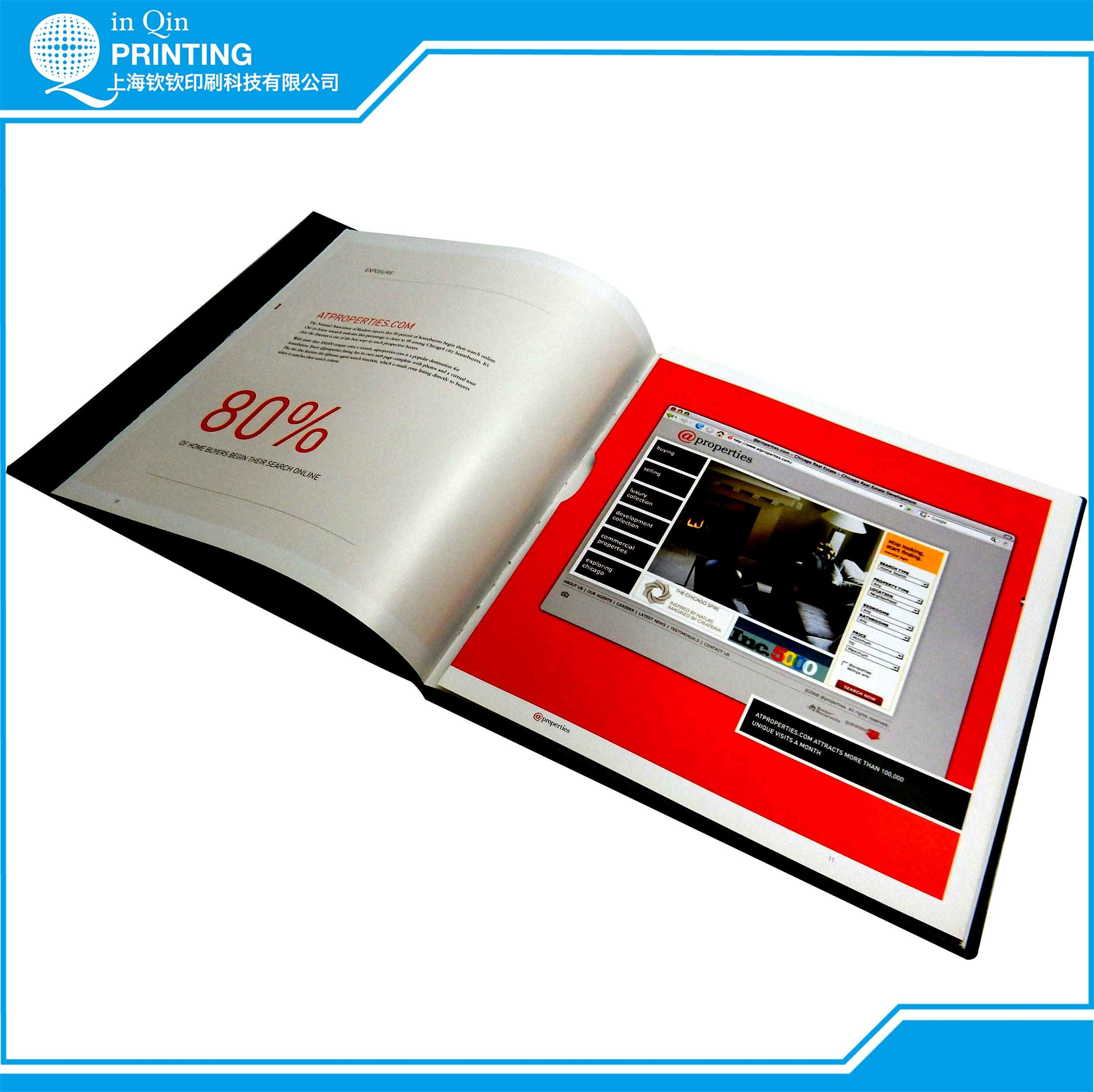 Book Brochure Magazine Catalog Printing Quotation
