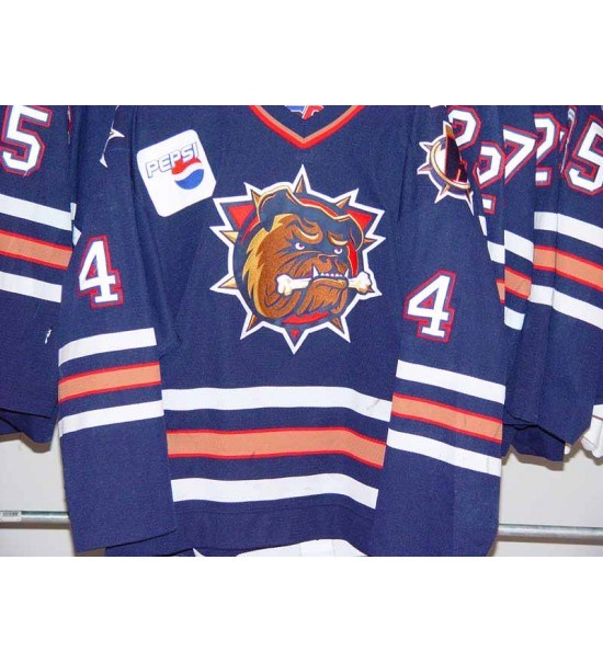 d18bf8f92 China Ahl Hamilton Bulldogs Ales Pisa Chris Hajt Jan Ice Hockey ...