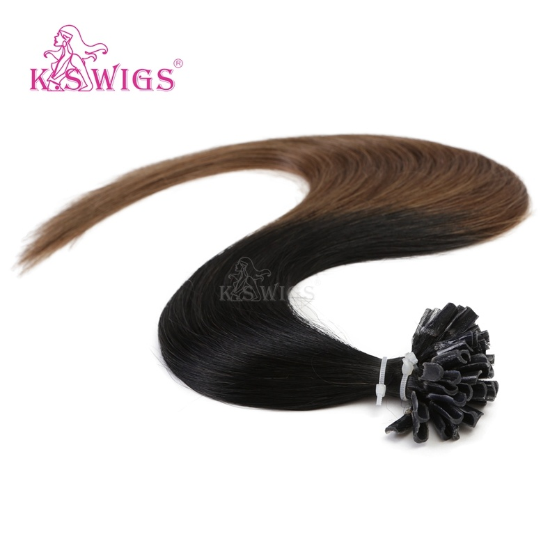 Top Grade Keratin Hair Russian Remy Human Hair Extensions pictures & photos