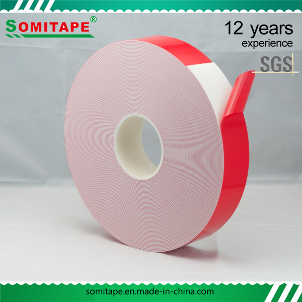Somi Tape Sh333A-15 High Density PE Foam Double Sided Tape/Adhesive Double Side Tape for Glass