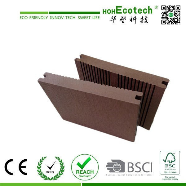 Outdoor Composite Decking Solid / WPC Crack-Resistant Decking /Good Price Wood Plastic Composite Decks pictures & photos