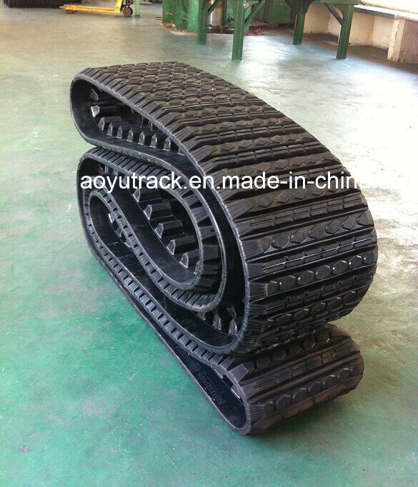 Cat 257 Loader Rubber Tracks