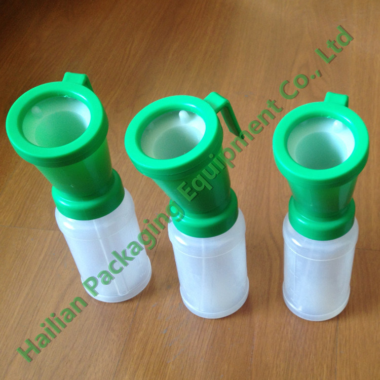 Green Color Plastic Non-Return Teat DIP Cup
