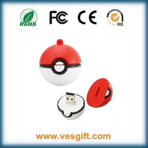 Crazy Hot Pokemon Model USB Flash Drive Poke Ball