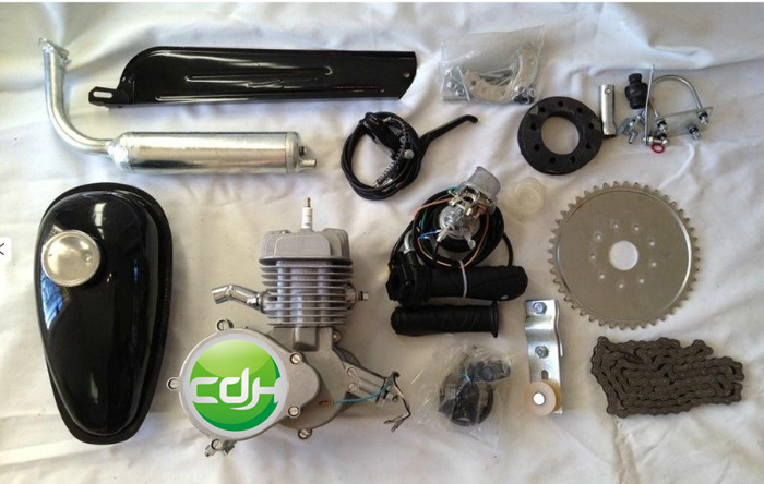 [Hot Item] 2 Stroke 80 Cc Motor Engine Kit Gas for 80cc Motorized Bicycle  Bike Gas Powered Bicycles for Sale