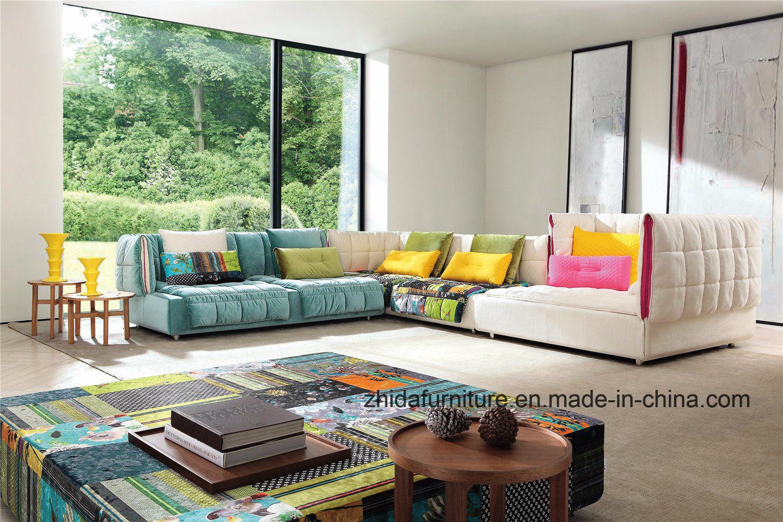 [Hot Item] Modern Furniture Living Room Italian Leather Recliner Sofa