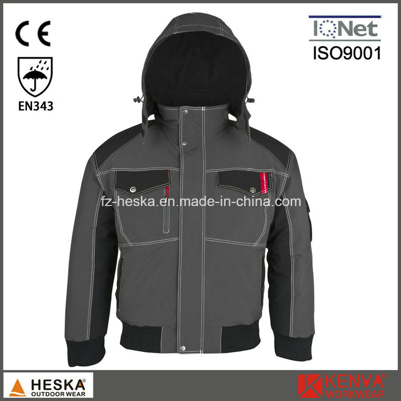 Mens Seam Tape Waterproof Pilot Jacket Winter Bomber Jacket pictures & photos