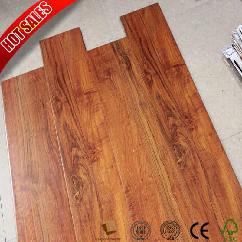 China New Canadian Maple Laminate Flooring 12mm Ac4 Hardwood Building Material