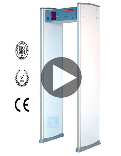 China Security Gate with Door Frame Walk Through Metal Detector ...