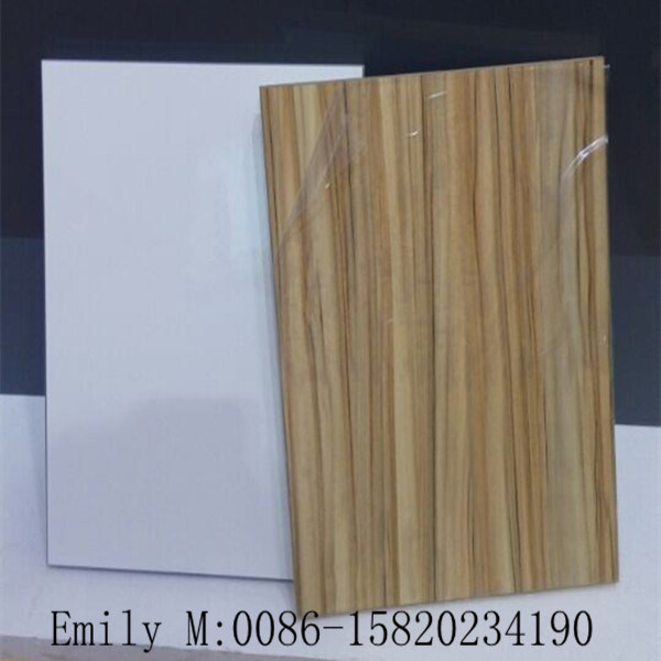 Wooden Door Kitchen Cabinet (ZHUV factory)
