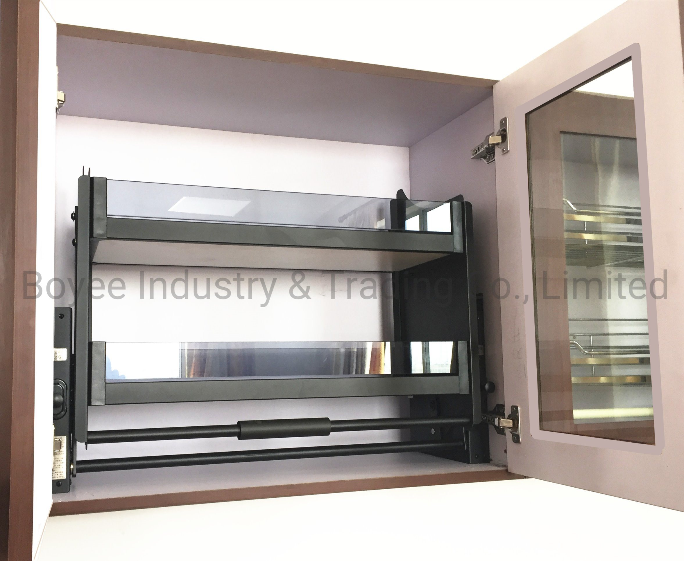 China Modern Style Kitchen Cupboard With Kitchen Cabinet
