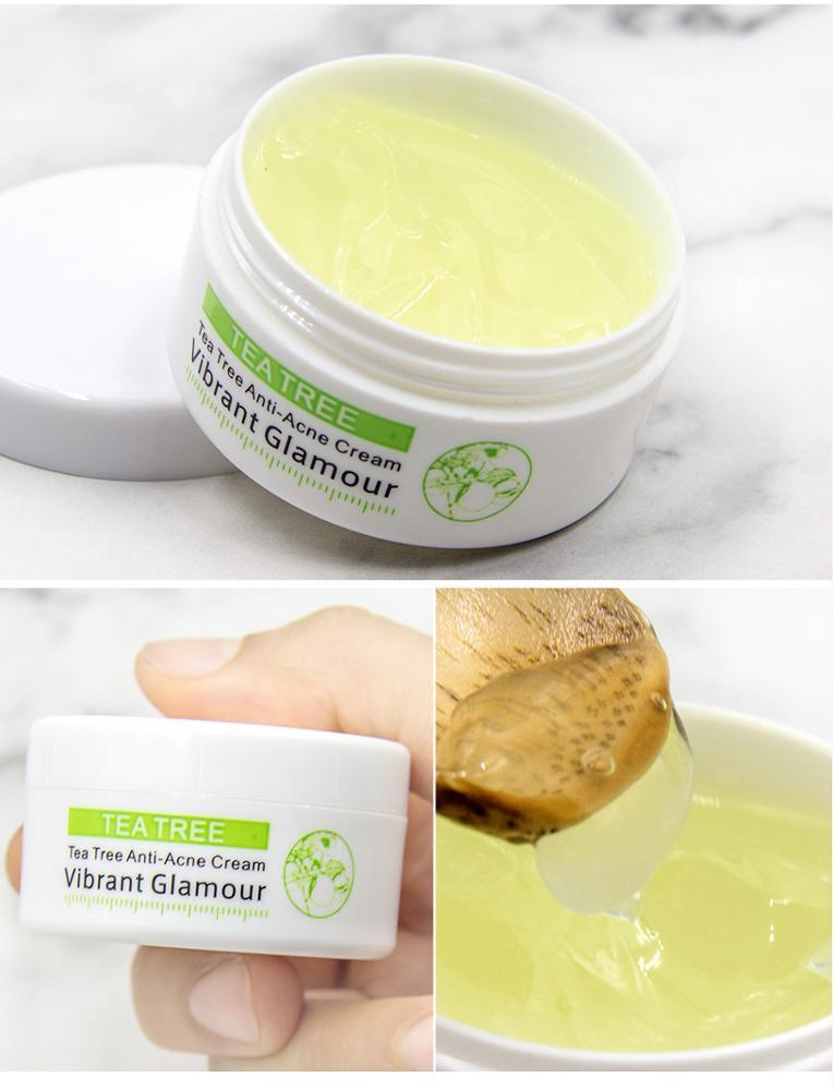 China Vibrant Glamour Tea Tree Acne Scar Removal Cream Anti Acne