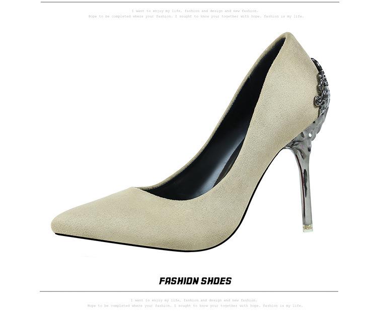 High Heel Lady Dress Shoes Red Wedding