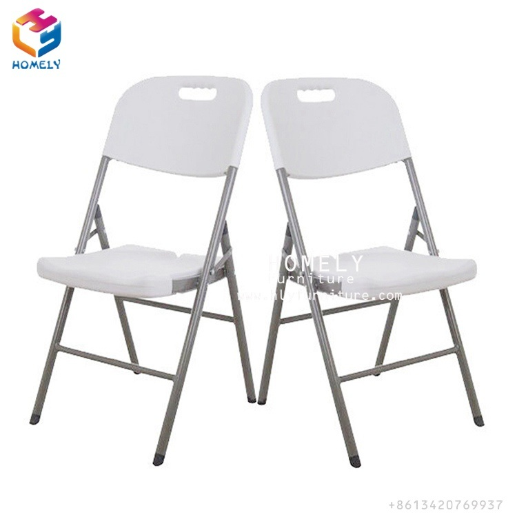 china wholesale dining room white plastic folding chair and tables