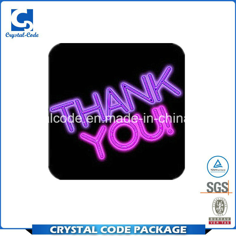 China high quality promotion glowing stickers labels china label sticker