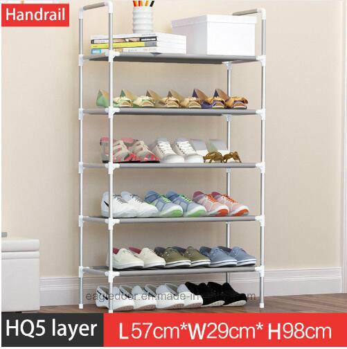 Shoe Cabinet Shoes Racks Storage Large Capacity Home Furniture DIY Simple  Portable Shoe Rack (FS 04E)