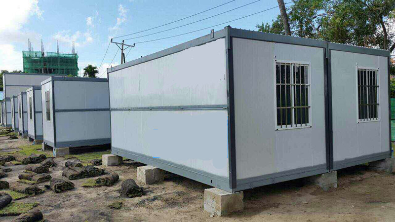 Modern Folding a-Level Fireproof Mobile Prefabricated/Prefab House Container House for Hot Sale pictures & photos