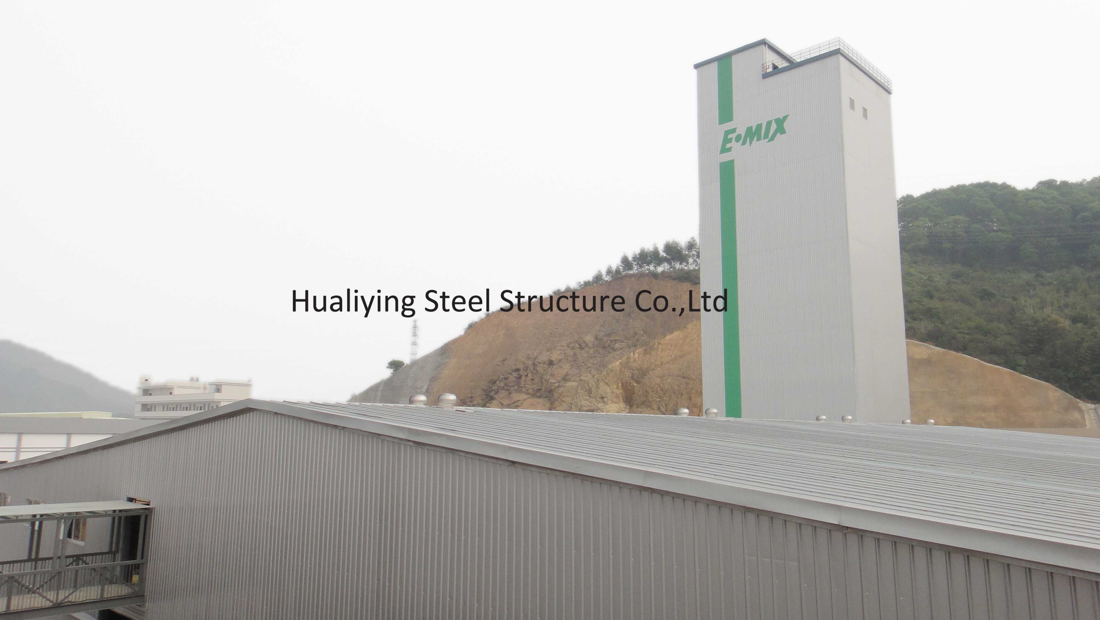 China Steel Space Grid Frame Structure Building with Curtain Wall ...