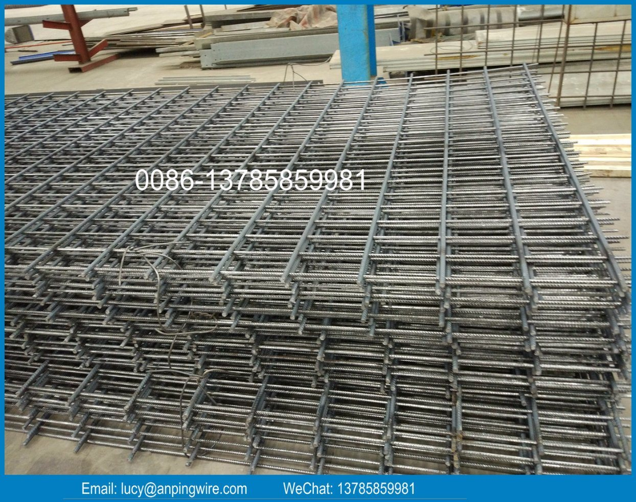 China Concrete Reinforcement Construction Welded Wire Mesh Factory ...