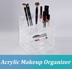 Exhibition Stand Organizer : China wholesale acrylic makeup organizer with drawers display