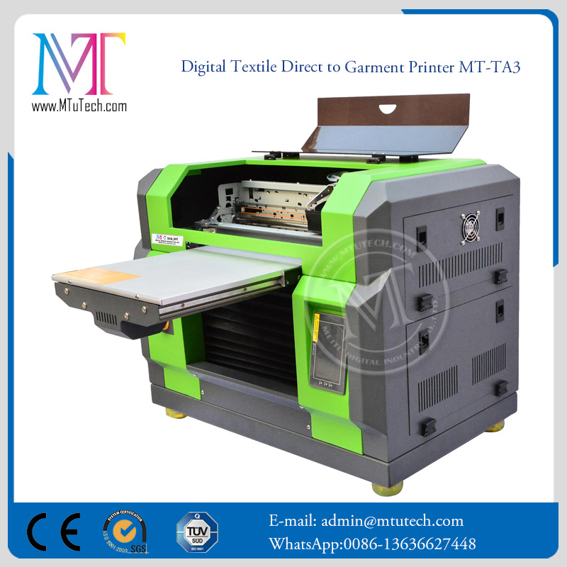 T-Shirt Printer Textile Inkjet Printer DTG Inkjet Printer with Dx5 Print Head pictures & photos