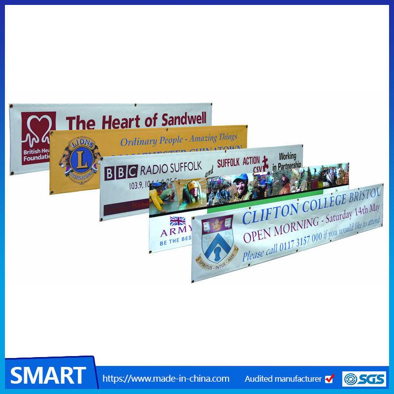 China Custom Digital Printing a Frame Flag Banner /Advertising PVC ...