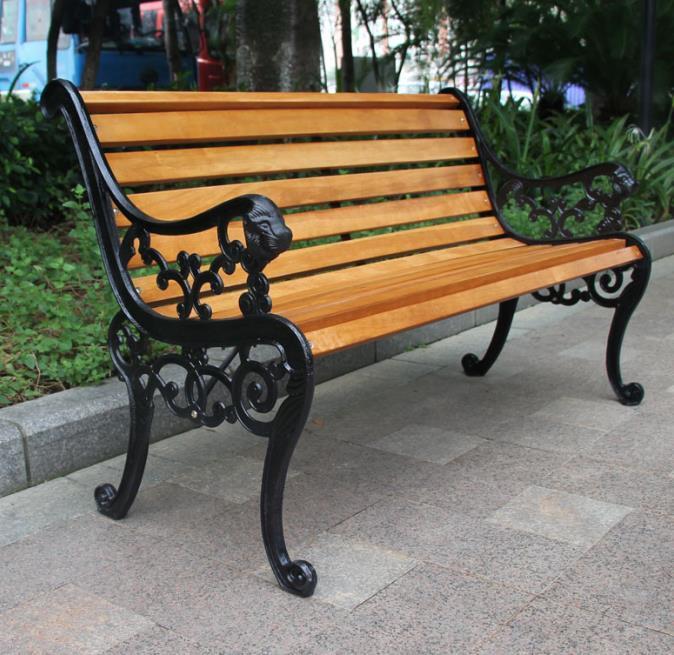 China Antique Cast Iron Wrought Iron Park Bench Garden Bench Price