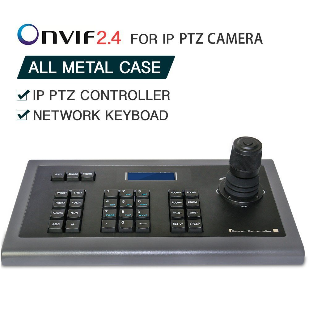 [Hot Item] CCTV 4D Keyboard Controller Joystick for IP PTZ Camera