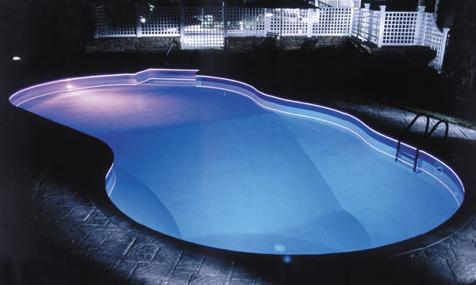Glow Fiber For Swimming Pool Lighting