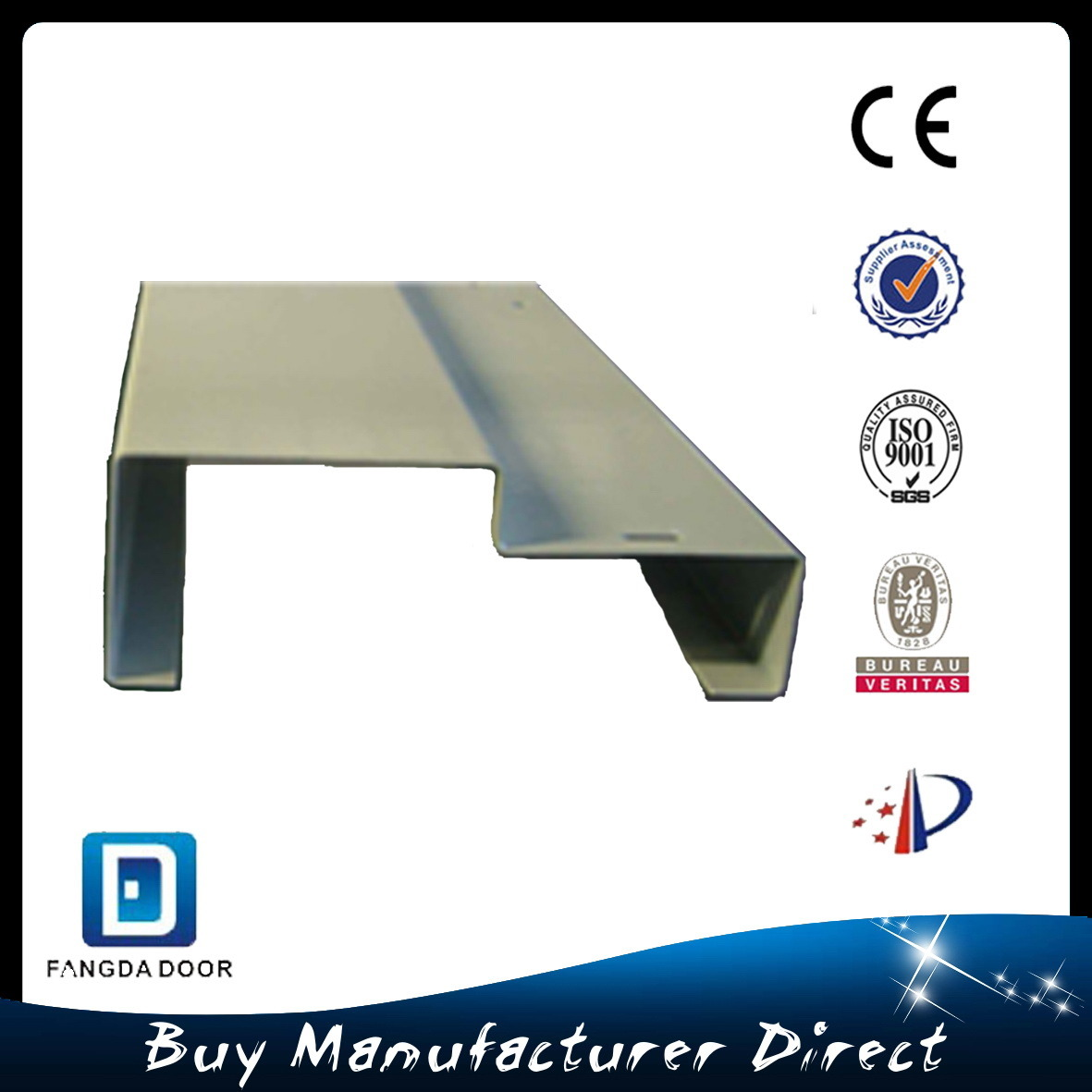 Classic Panel Design Knock Down Steel Frame