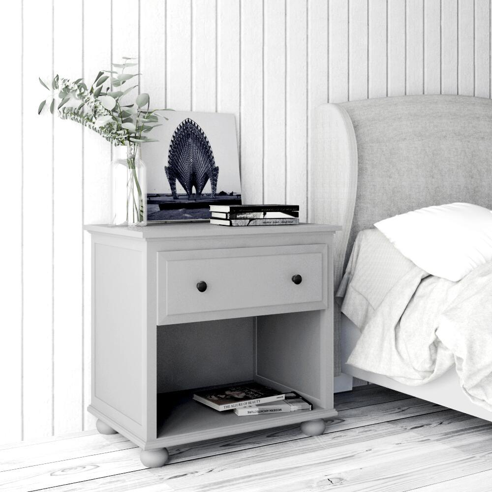 China Painted Wooden Cheap Nightstand Bedside Table Bedroom