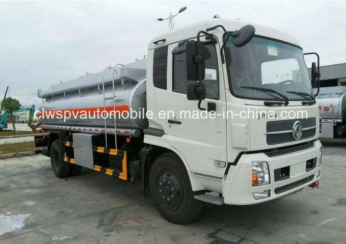 10 Tons to 12 Tons Fuel Tank 13cbm 15cbm Fuel Tanker Truck for Sale