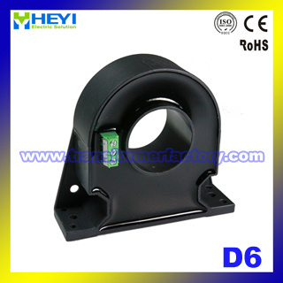 (D6 Series) Toroidal Closed Loop Hall Effect Current Sensor with ISO