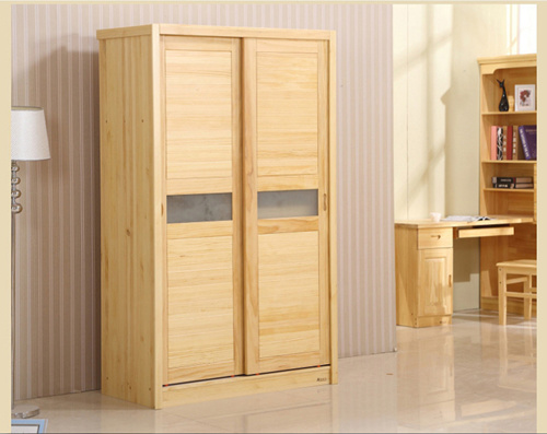 Nice Style Sliding Door Wooden Wardrobe (M-X1071)