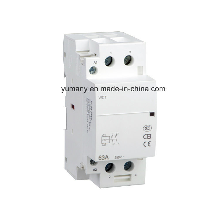[Hot Item] New Wiring Diagram Household AC Contactor (WTC-63A 2P) on