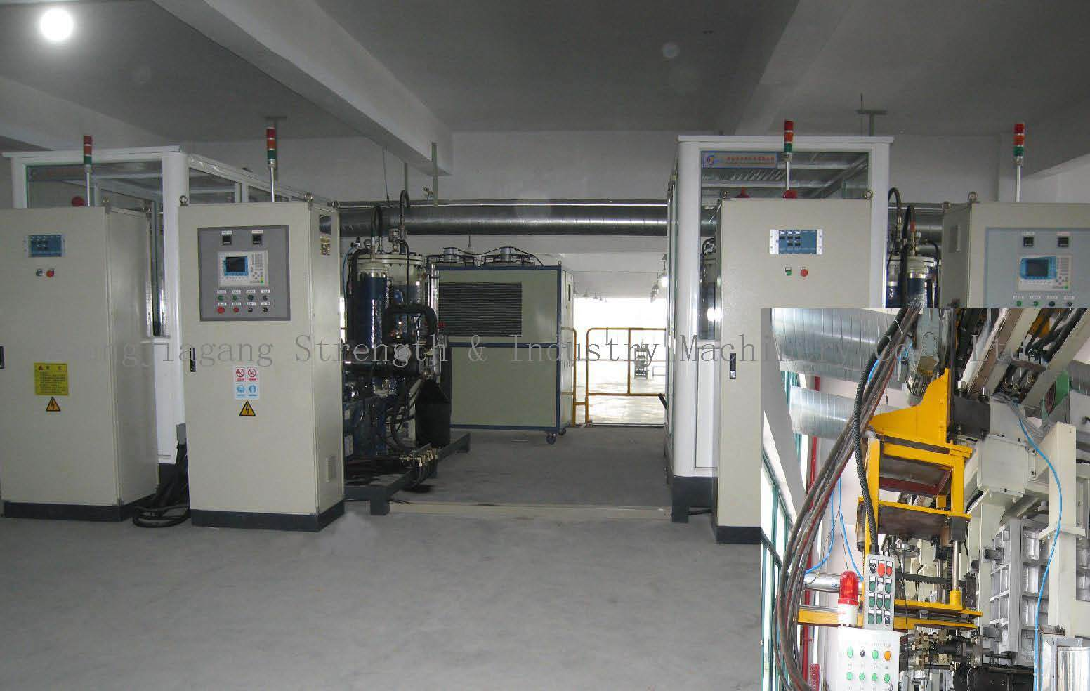 Refrigerator PU Foaming Line (ROL-32-100/80) pictures & photos