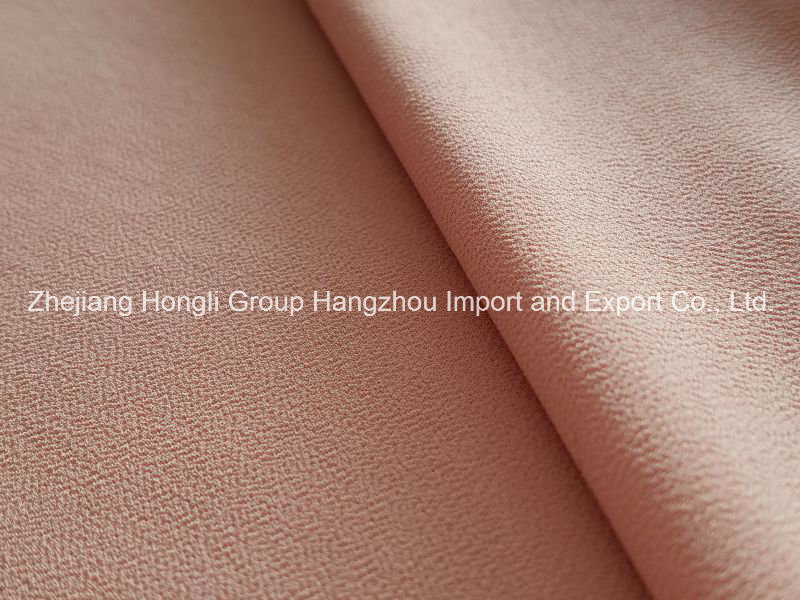 High Twist Polyester Chiffon Crepe for Ladies′ Style