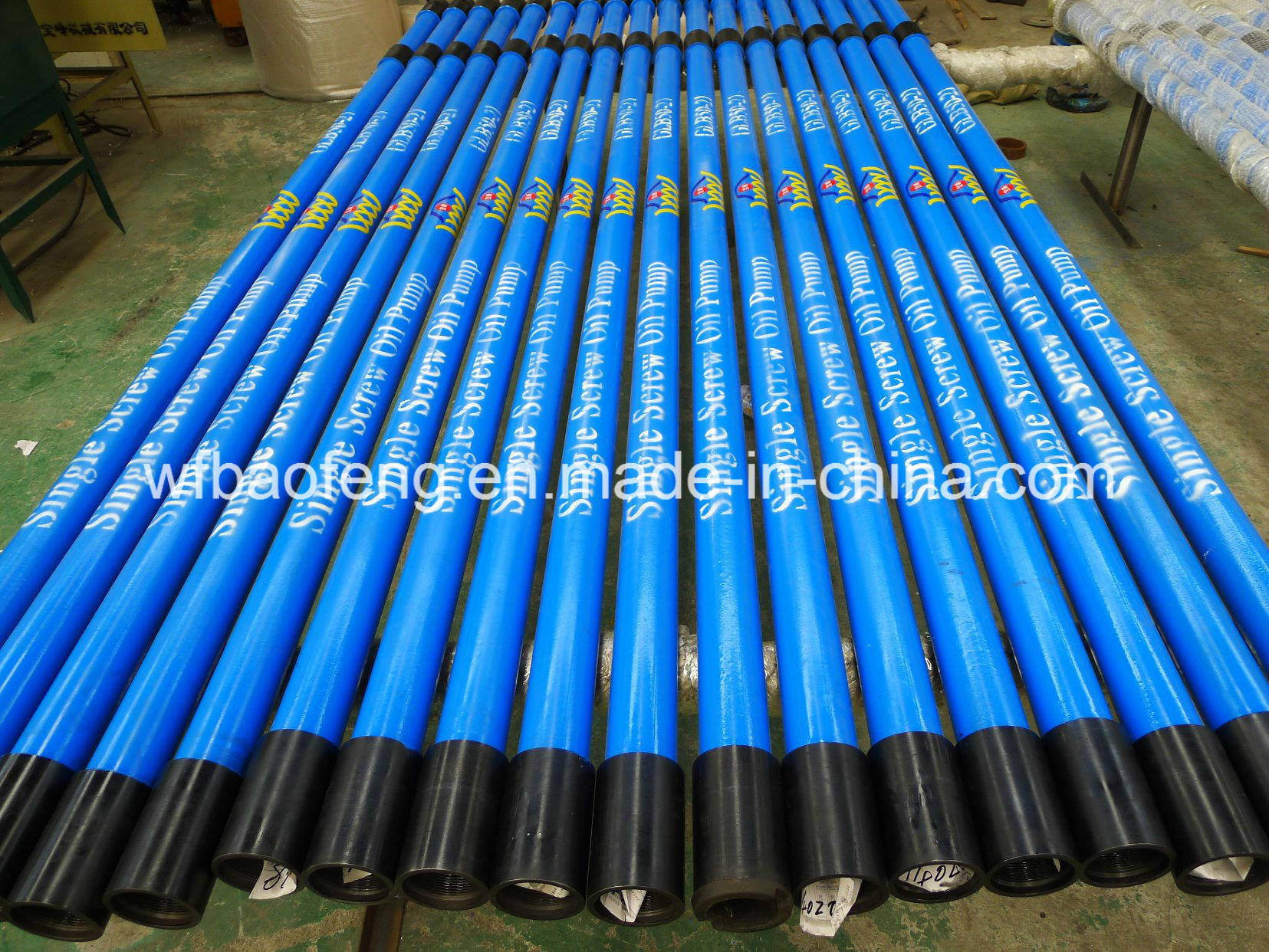 "7""Casing Screw Pump Well Pump Rotor and Stator Glb120/36 pictures & photos"