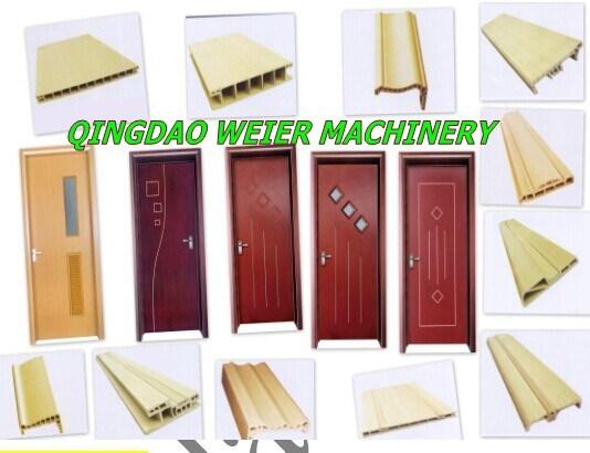 China WPC PVC Door Frame Profile Extrusion Line - China Plastic ...