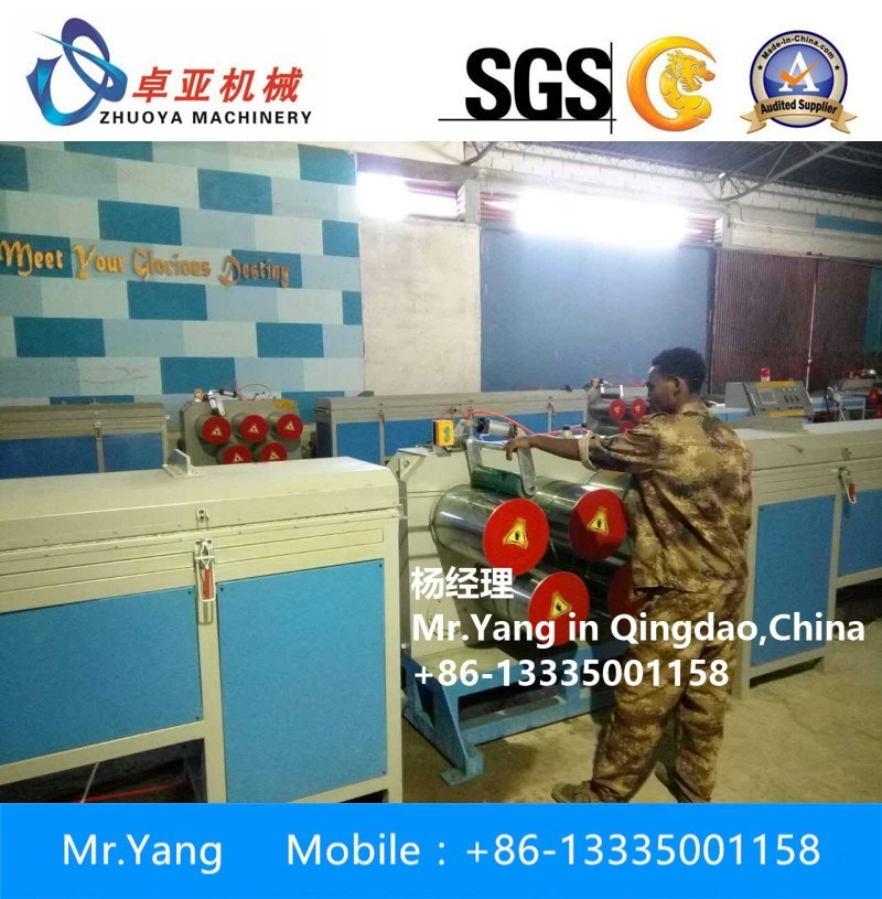 China Pet PP Rope and Broom Wire Drawing Machine Photos & Pictures ...