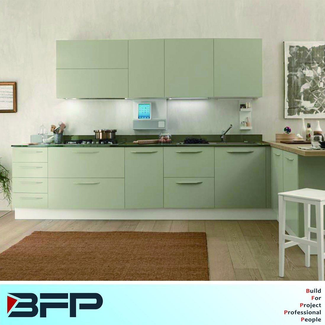 China Custom Made Lacquer Matt Finish Kitchen Cabinets Blk 29 China Wood Kitchen Furniture Kitchen Cabinets