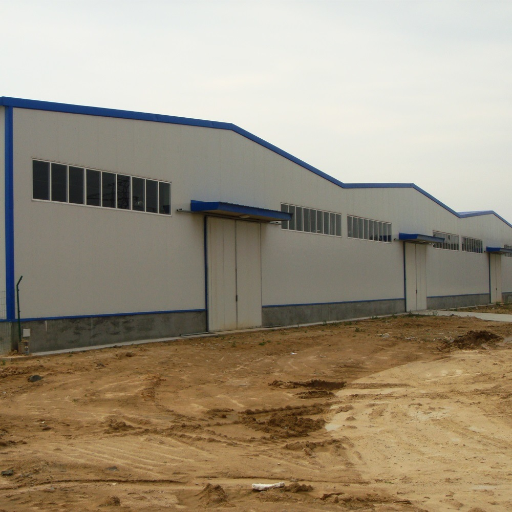 China Large Span Prefabricated Steel Frame Photos & Pictures - Made ...