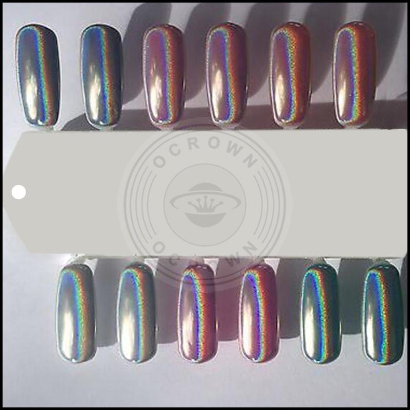 China Candy Colors Holographic Sugar Nail Glitter Mermaid Chrome ...
