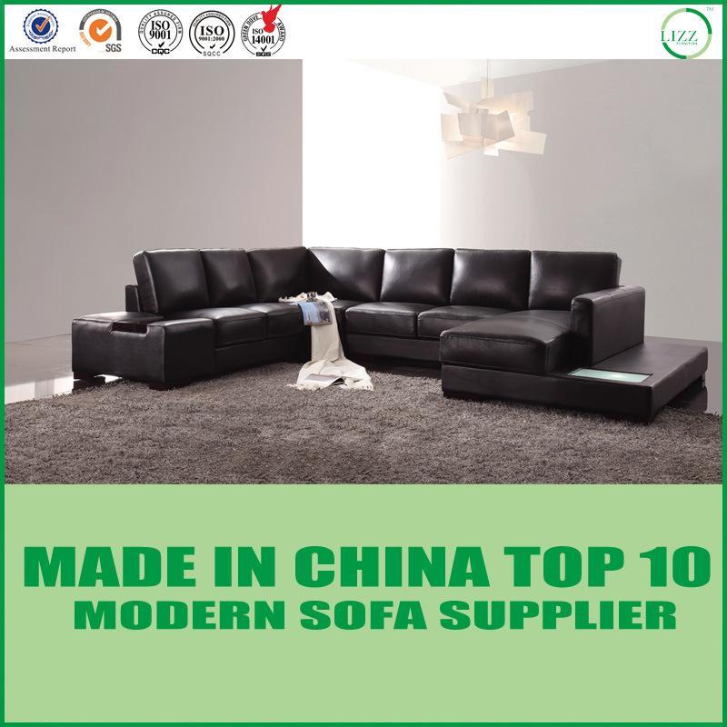 [Hot Item] Modern Home Furniture Natuzzi Italian Leather Sectional Sofa
