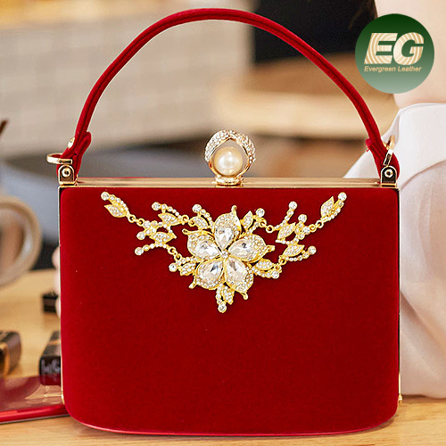 New Design Handbag Lady Party Bag Fashion Evening High Quality Fabric Handbags From China Factory Eb944