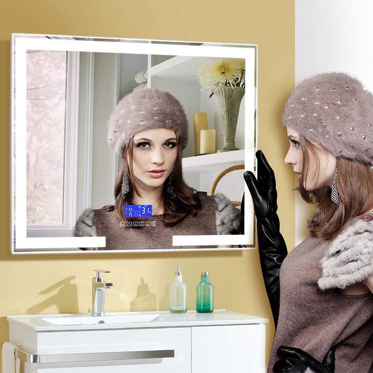 China Led Light Bathroom Mirrors Modern, Defog Bathroom Mirror