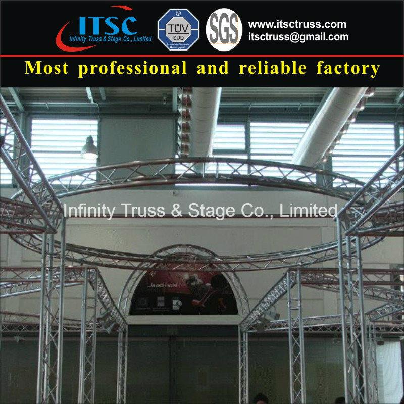 China Circular Lighting Truss System