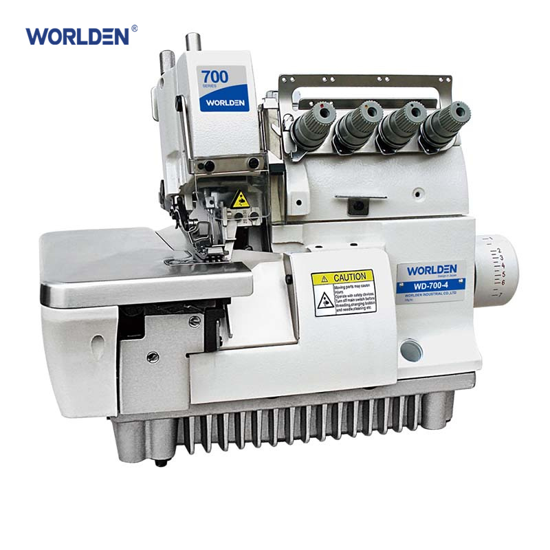 China Wd40040 Super Four Thread High Speed Elastic Overlock Sewing Awesome 4 Needle Elastic Sewing Machine