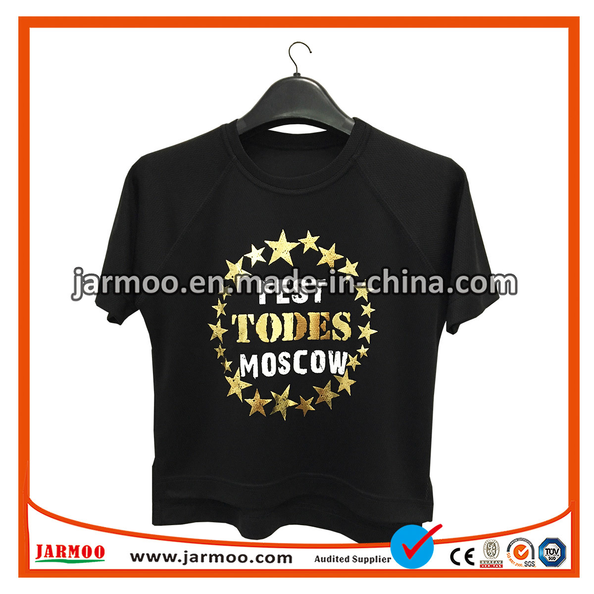 China Wholesale Custom Printing 100 Cotton Promotional T Shirt