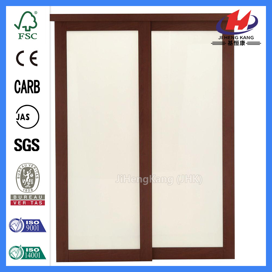 China Modern Closet Glass Timber Sliding Door China Door Door Panel
